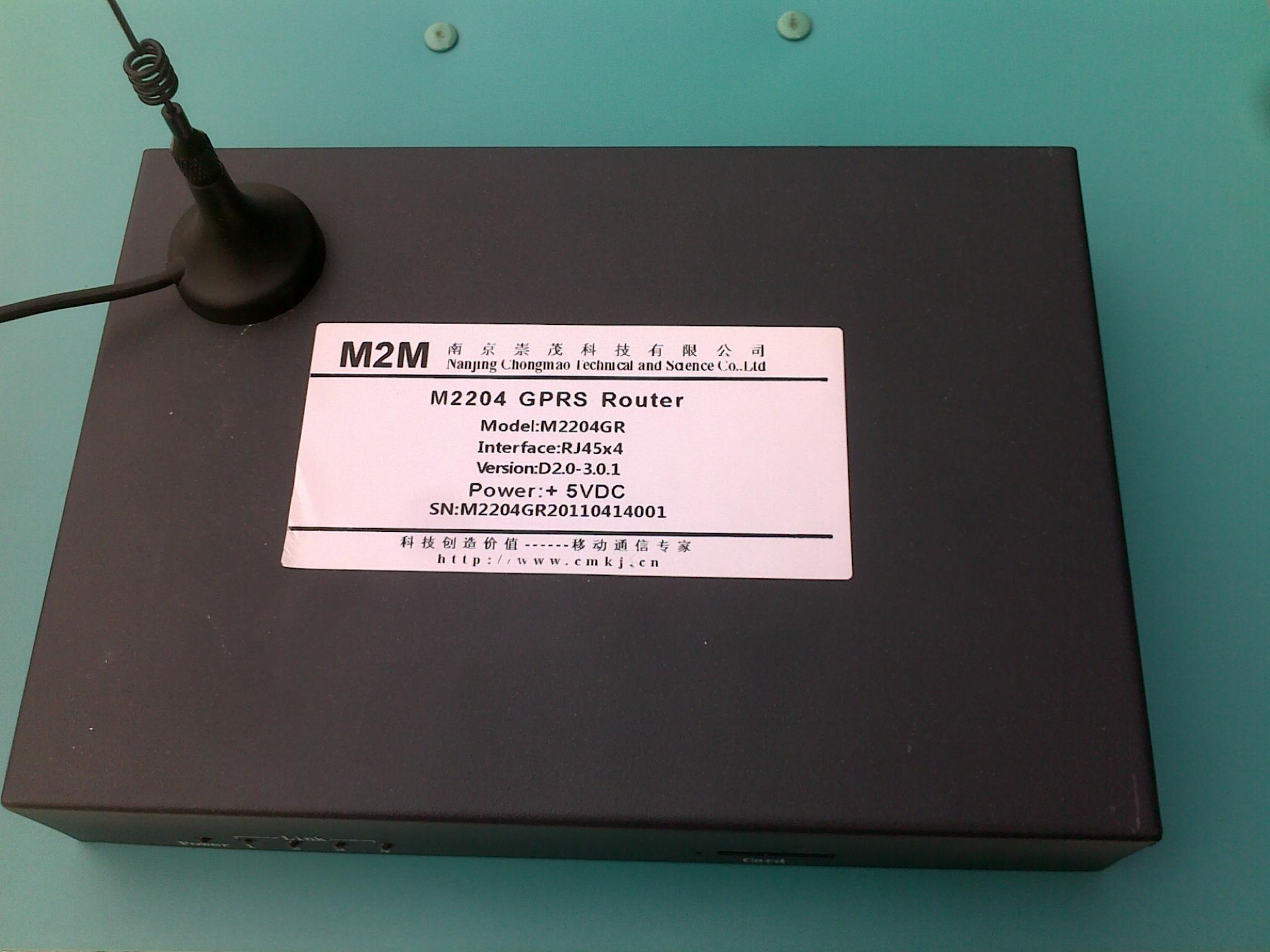 老虎机_M2004 GPRS  无线路由器