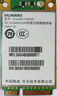 华为3G模块EM560  TD-SCDMA