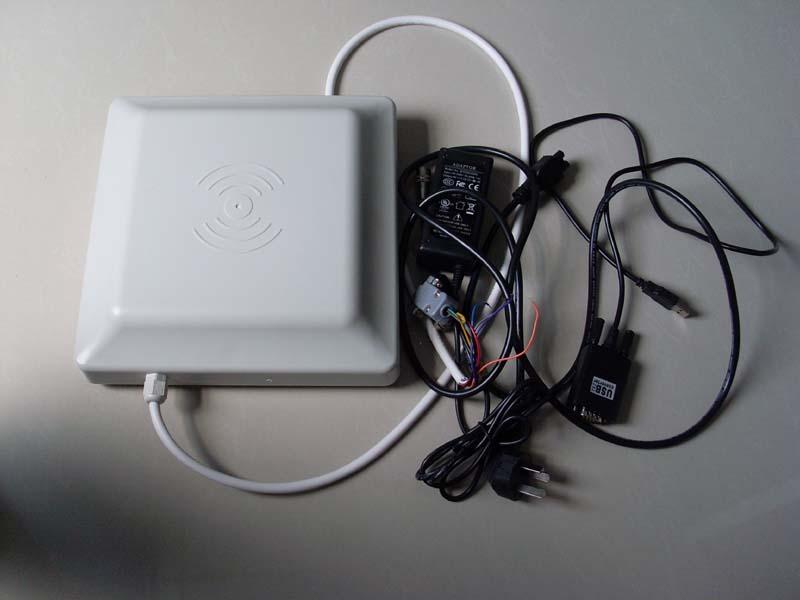 供应RFID圆极化读写器/0-6米