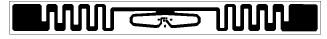 Impinj  二代物流标签 E41C