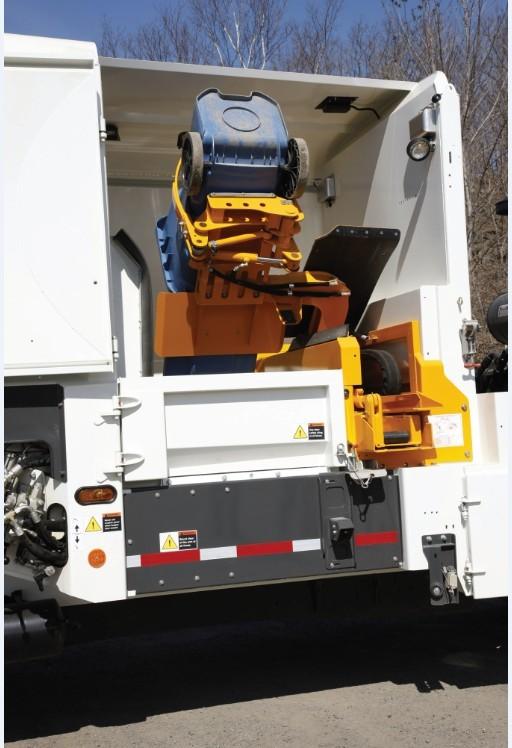 IMPINJ的RFID技术实现自动化的垃圾收集