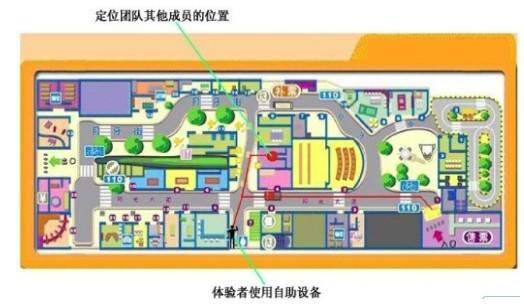 游乐园场馆内游客定位系统方案(无线RFID定位)