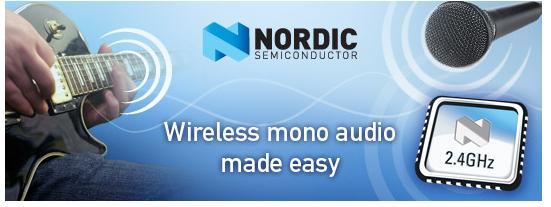 Nordic nrf2460 2.4G无线射频芯片 迅通科技