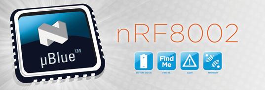 Nordic nrf8002蓝牙4.0、 迅通科技