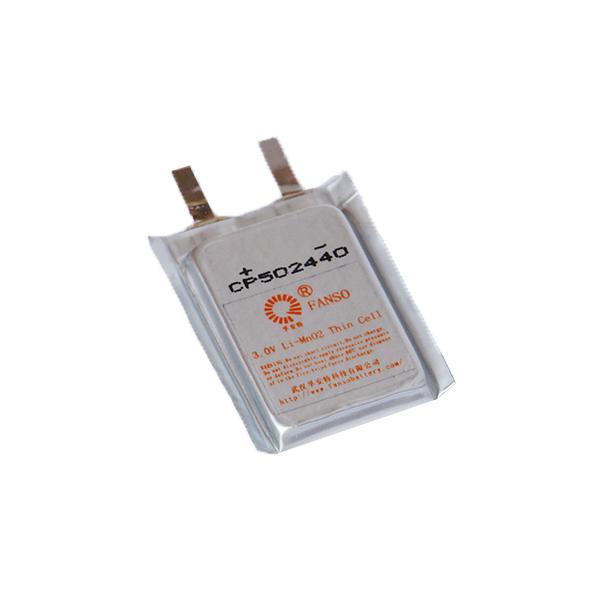 有源电子标签专用方形软包装锂电池 CP502440
