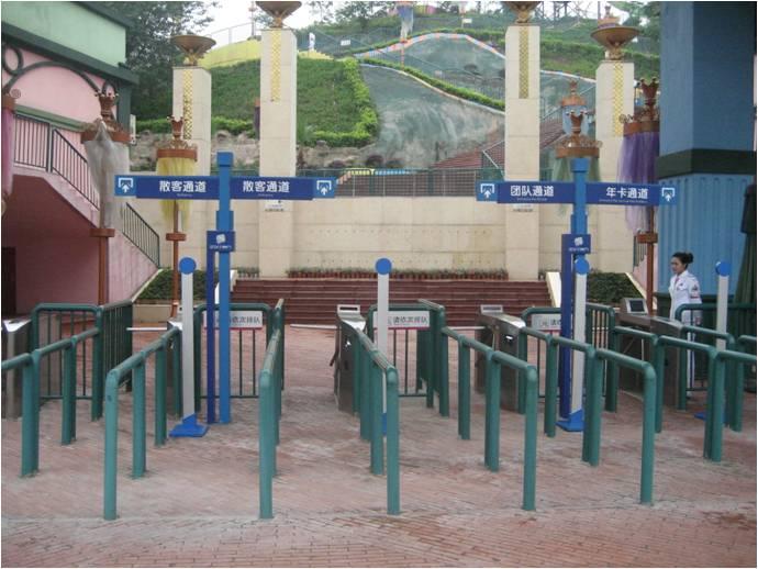 南京沃思维景区通道管理系统