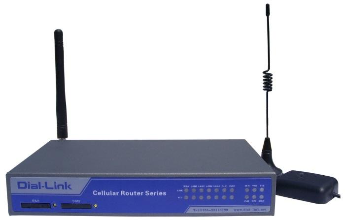 DLK-R5506 电信+联通工业双网络路由器