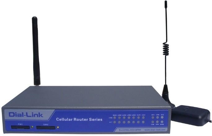 DLK-R8808 FDD-LTE工业双路路由器