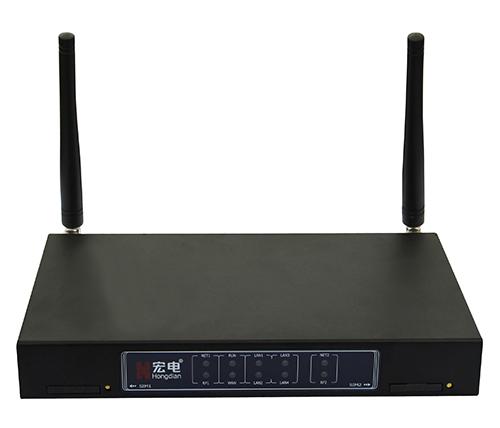 宏电H8922工业级全网路由器