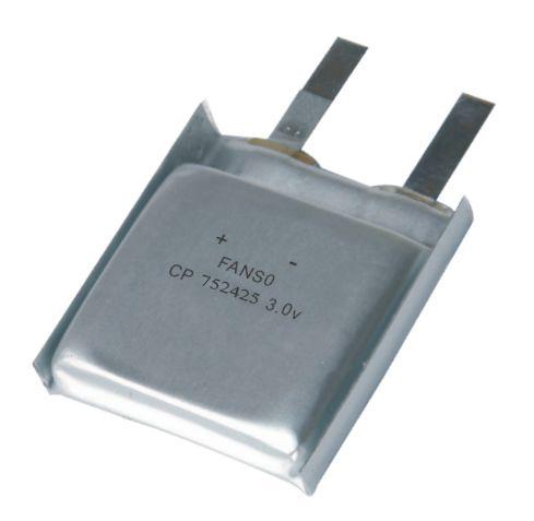 人员定位系统用方形软包锂电池cp752425