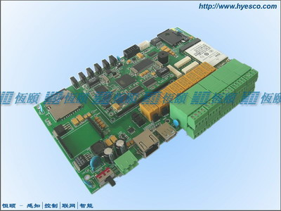 3G/4G-4AI-4DI-8DO-2串口RTU终端