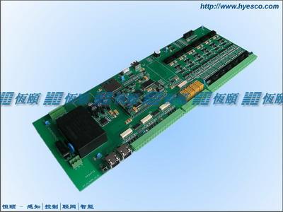 以太网-12DI-4DO-6串口采集板
