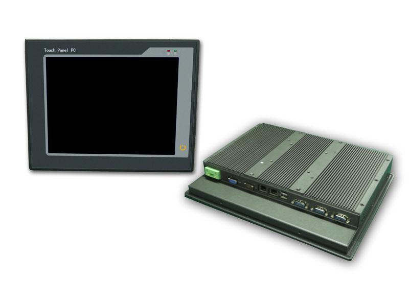 12寸超薄无风扇嵌入式工控机PPC-P12N26-R10