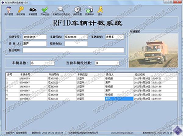 鼎创恒达RFID车辆计数管理系统
