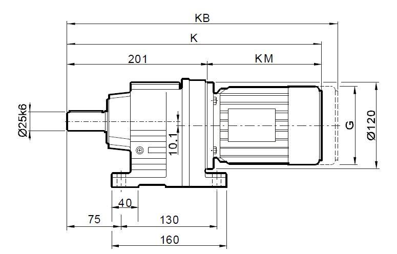 贝斯特全球最奢华娱乐_斜齿轮硬齿面减速电机同轴输出R37