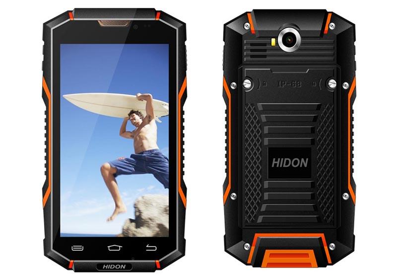 5寸安卓5.1全网通4G北斗三防智能手机