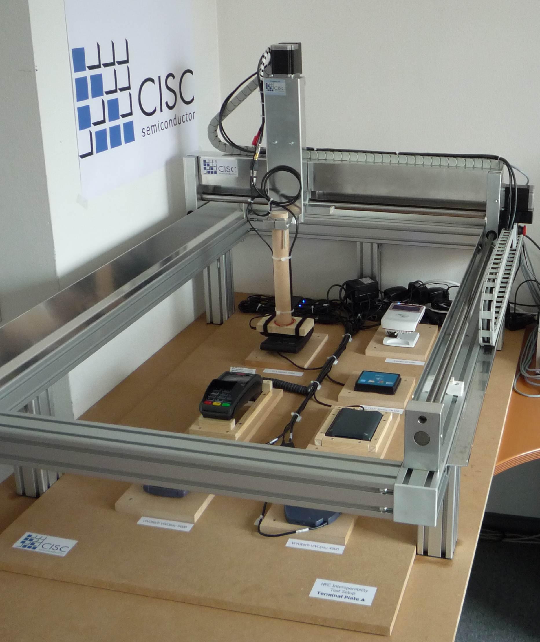 CISC NFC 互通性测试仪