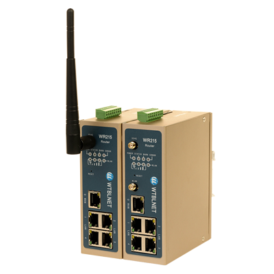 WR215五个网口系列工业智能路由器