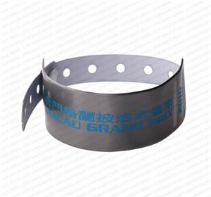 江林厂家供应 PVC腕带  一次性腕带 医用腕带