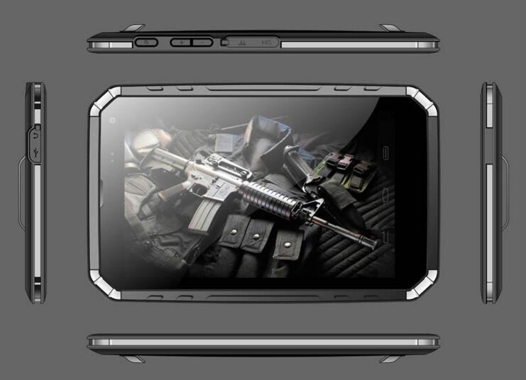 8寸全加固手持工业平板电脑XJ-P8Z3735HD-R10
